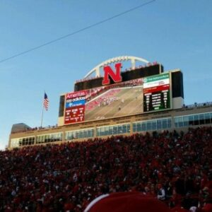 We went to a Husker game and It. Was. Awesome.