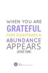 Gratitude & Abundance