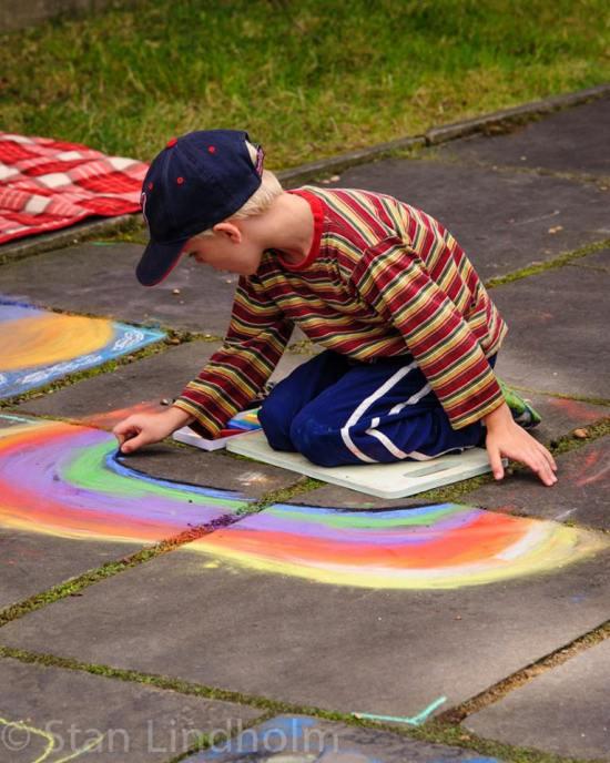 rainbow boy by Stan