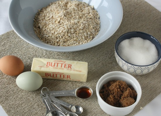 Cinnamon Baked Oatmeal Ingredients