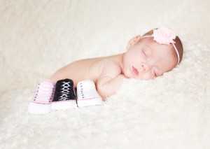 Peyton's 4 month picture