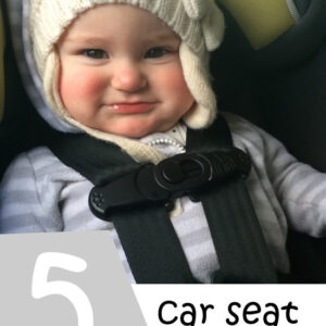 5 Car Seat Safety Tips