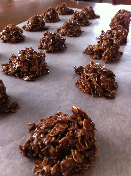 Grandma's No Bake Cookies