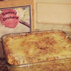 Spaghetti Pie, AKA Awesome Leftover Dish!