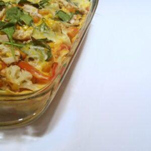 Layered Enchilada Dish