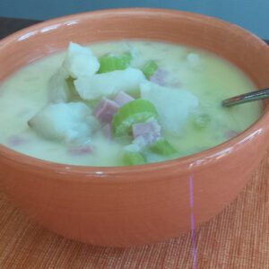 "Make-Ahead Potato Ham Soup & ""Calving"" Season"