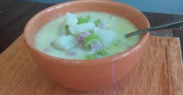 Potato Ham Soup www.herviewfromhome.com
