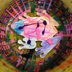 Spin the Paint – Great Activity for your Kids!