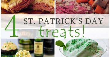 4 St. Patrick's Day Treats - www.herviewfromhome.com