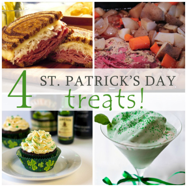 4 St. Patrick's Day Treats - www.herviewfromhome.com