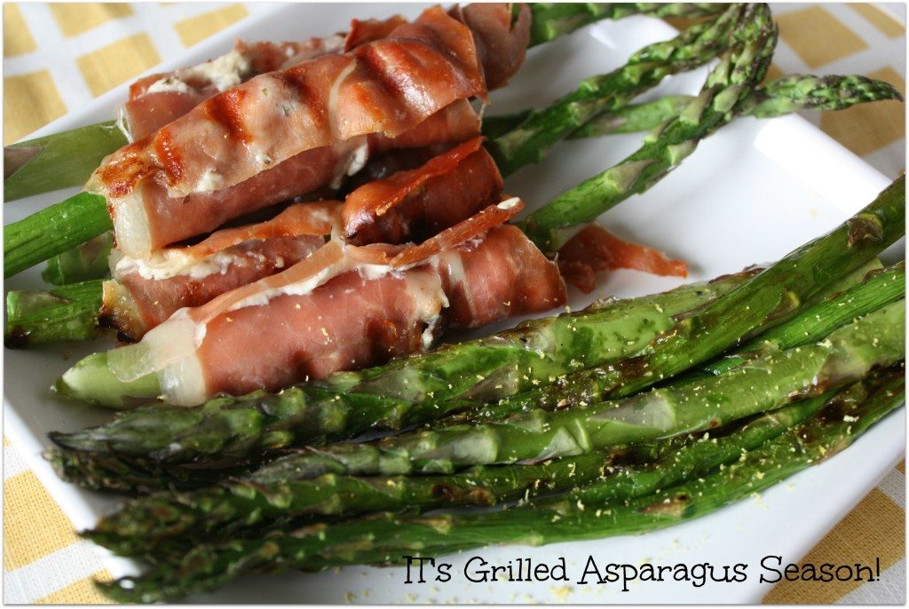 Grilled Asparagus Times Two! www.herviewfromhome.com