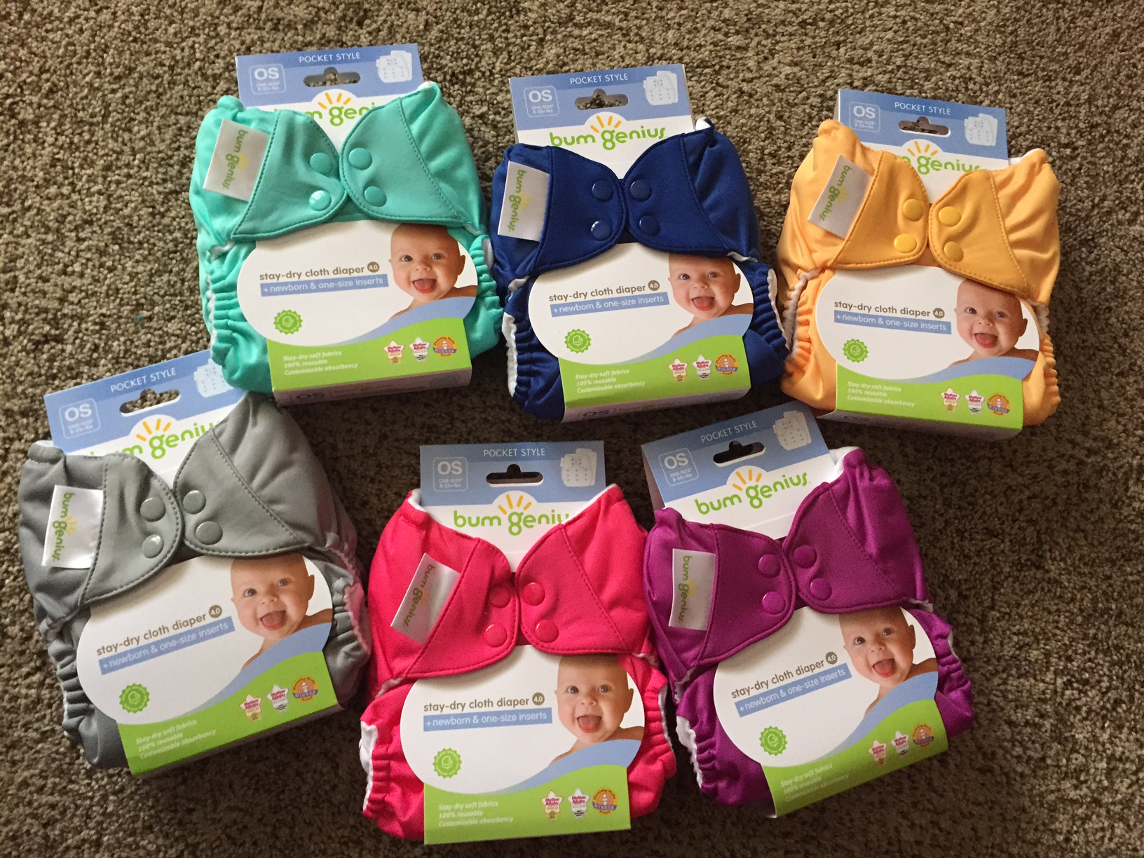 Cloth Diapers: 10 Questions to Help You Get Started www.herviewfromhome.com