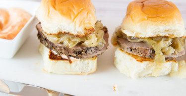 Peppered Pork Sliders