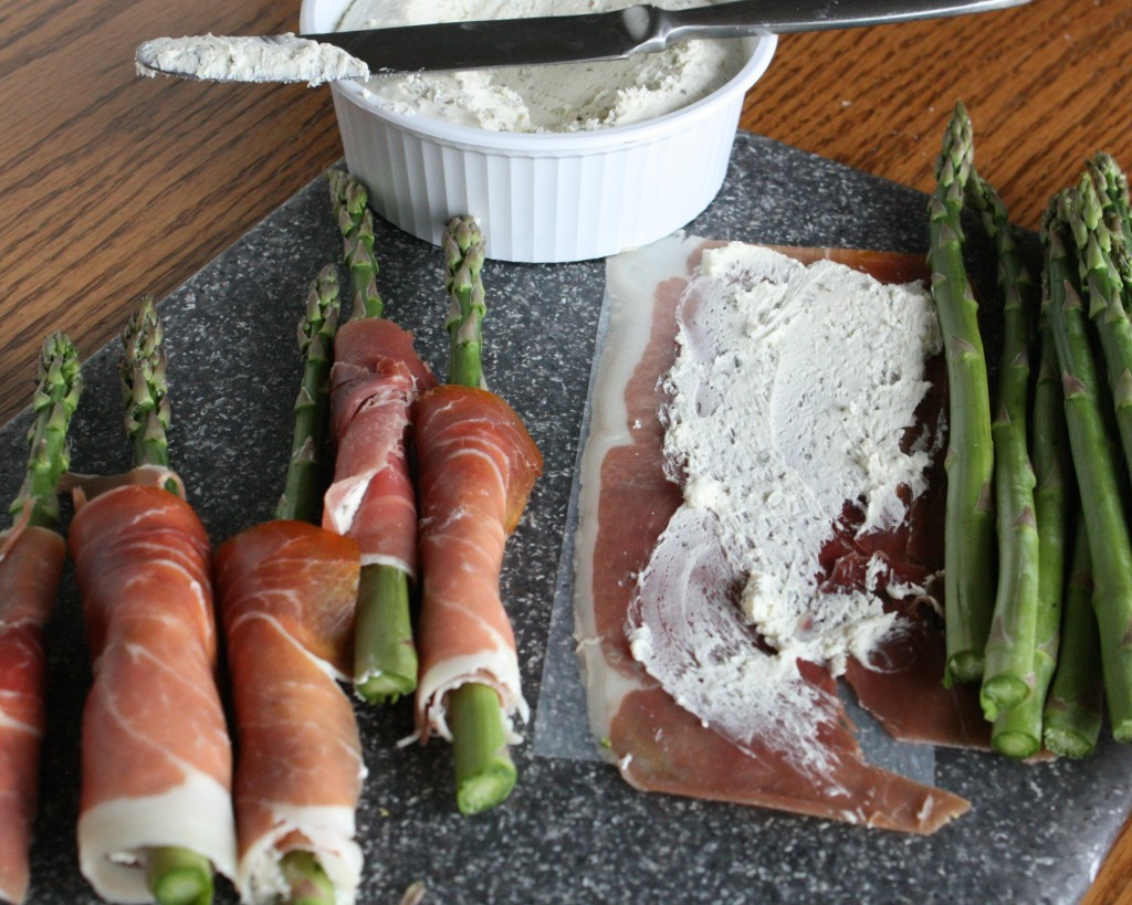Grilled Prosciutto-Wrapped Asparagus   www.herviewfromhome.com