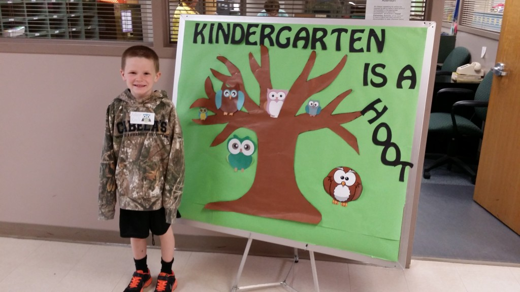 Asher, who turned six on May 5th, is ready for Kindergarten this year!