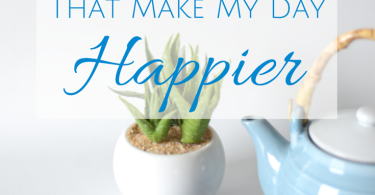 7 Little Things That Make My Day Happier www.herviewfromhome.com