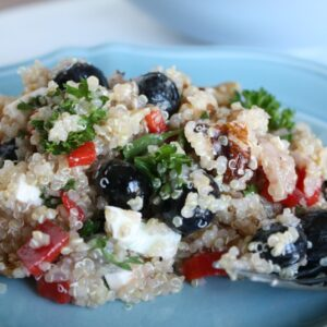 Patriotic Blueberry Quinoa Salad