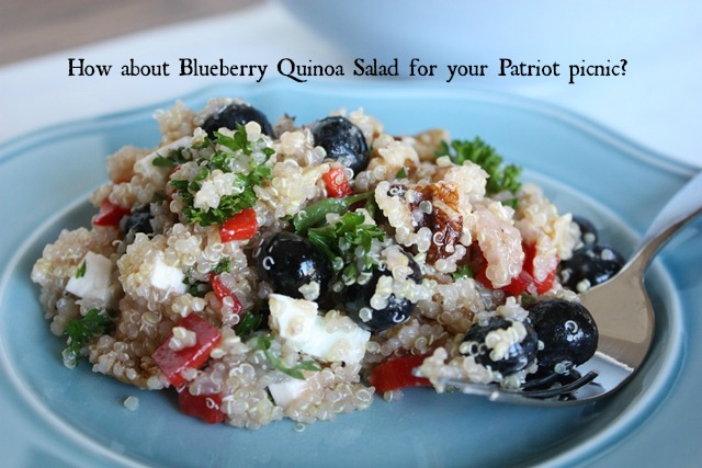 blueberry quionoa salad side c