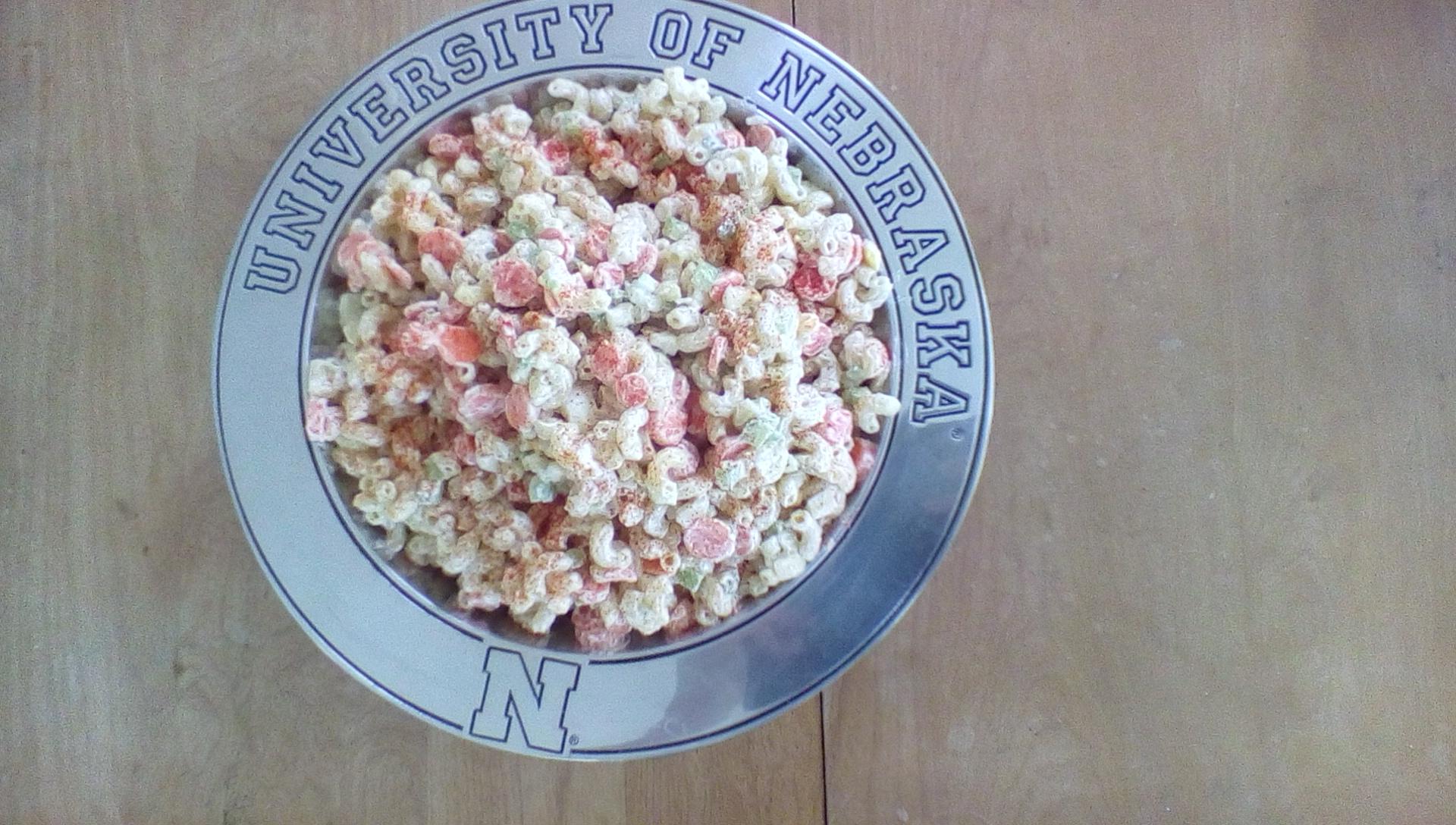 Gramdmom's Macaroni Salad www.herviewfromhome.com