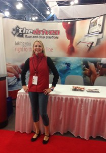 Working at the Chevron Houston Marathon Expo for my then-new gig