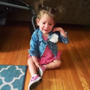 Peyton's many tears