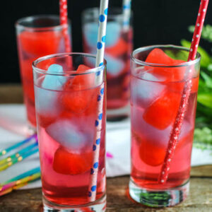 4th of July Mocktail and Cocktail