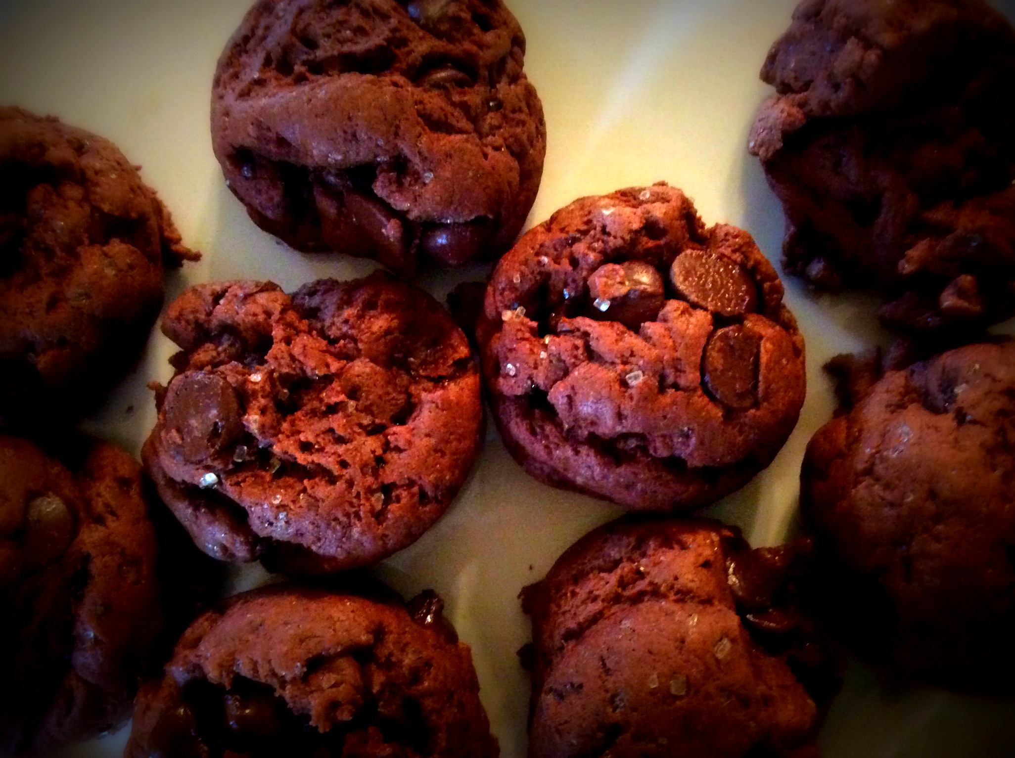 Small Batch Chocolate Pudding Cookies www.herviewfromhome.com