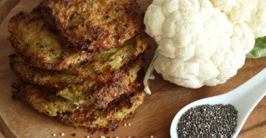 Baked Quinoa Chia Cauliflower Cheese Patties www.herviewfromhome.com