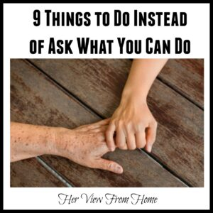 9 Things You Can Do Instead of Ask What You Can Do