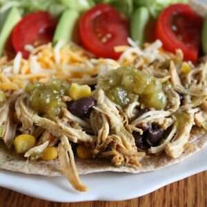 Lime Chicken Tacos (Easy Crockpot Meal)