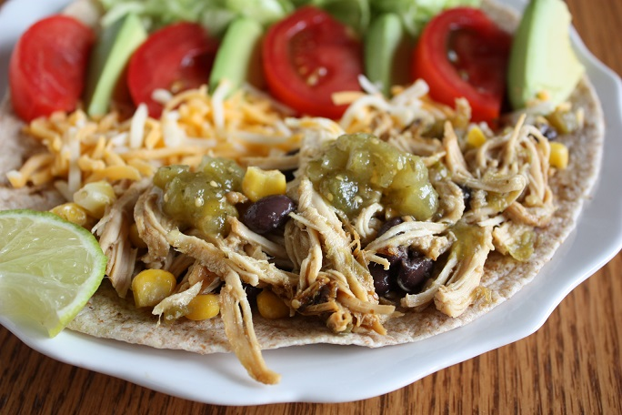 Lime Chicken Tacos www.herviewfromhome.com