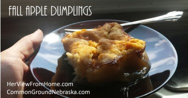 Fall Apple Dumplings_CommonGround Nebraska - www.herviewfromhome.com