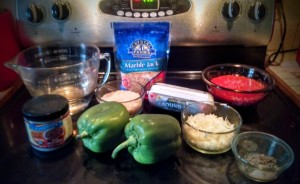 Easy Weeknight Stuffed Pepper Casserole   www.herviewfromhome.com