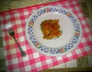 Easy Weeknight Stuffed Pepper Casserole