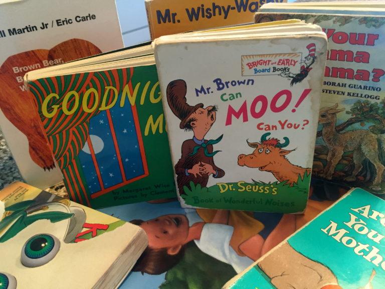 """Goodnight moon….Goodnight books."" www.herviewfromhome.com"