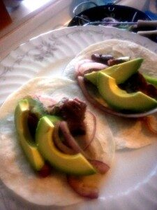 Steak Fajitas   www.herviewfromhome.com