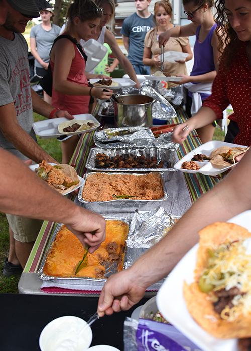 Campground Fajitas   www.herviewfromhome.com