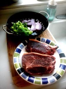 Steak Fajitas   www.herviewfromhome.com