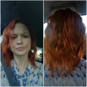 Haircut before