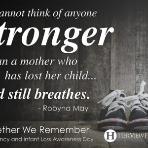 Thank You (Pregnancy and Infant Loss Awareness Day)