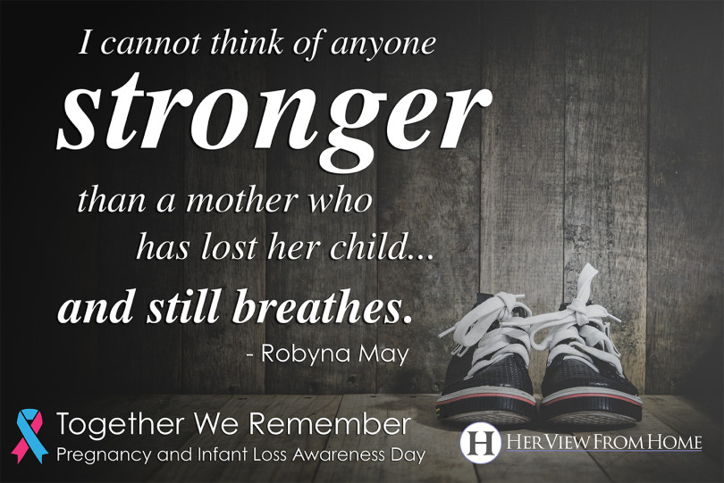 Thank You Pregnancy And Infant Loss Awareness Day Her