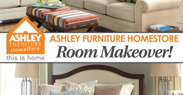 Ashley Furniture HomeStore $1,000 Makeover! www.herviewfromhome.com
