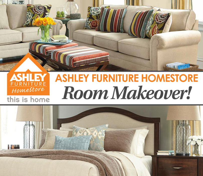 Ashley Furniture Homestore 1 000 Room Makeover Her View From Home