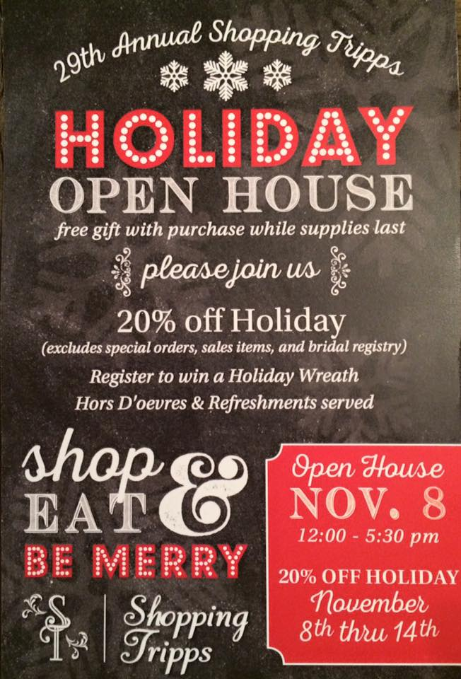 Shop Local - Shopping Tripps!  ($100 gift card giveaway)   www.herviewfromhome.com