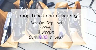Shop Local, Shop Kearney www.herviewfromhome.com