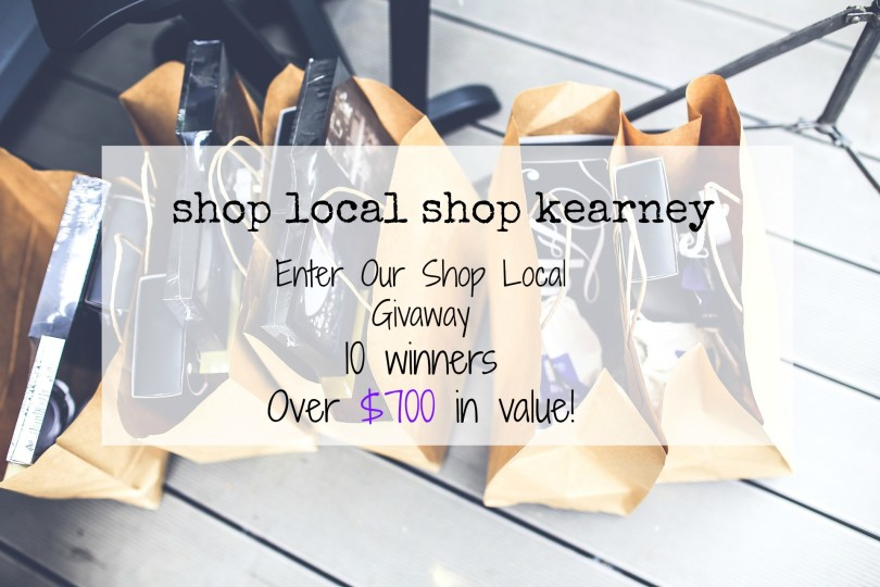Shop Local, Shop Kearney www.herviewfromhome.com