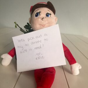 A New Tradition: Our Kindness Elf   www.herviewfromhome.com