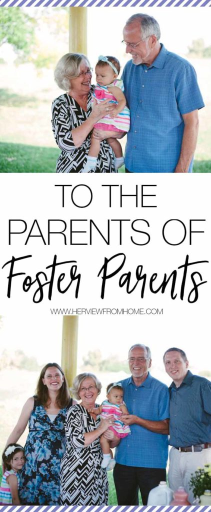 When we chose to become foster parents, we accidentally brought our parents along for the ride. The role of a Foster Grandparent is important, and this is a letter to all Foster Grandparents. We appreciate you.