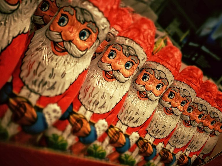 The Mysterious Santa Claus www.herviewfromhome.com