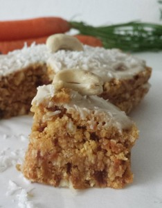 Raw Vegan Carrot Cake   www.herviewfromhome.com